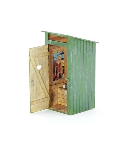 Деревянный туалет (масштаб 1/35) - фото 62999