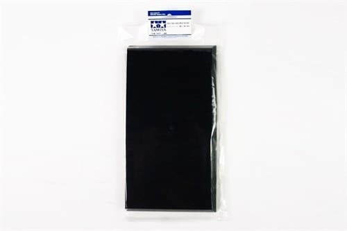 Пластиковая подставка для моделей или диорам, размер L (300х160 мм). Может краситься красками Тамия - фото 63348