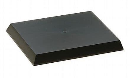 Пластиковая подставка для моделей или диорам, размер S (148х108 мм). Может краситься красками Тамия - фото 63349