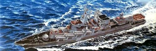 """Ракетный Крейсер """"Маршал Устинов"""" (1:700) - фото 63365"""