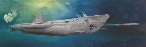 Dkm U-Boat Type Viic U-552  (1:48) - фото 63374