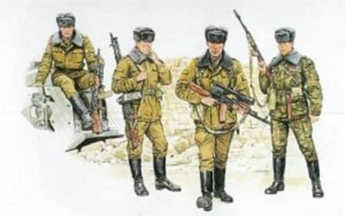 Фигуры  Soviet Motor Rifle Troops  (1:35) - фото 63522