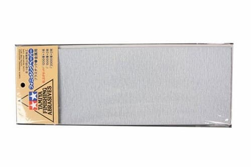 Набор шлифовальной бумаги (Ultra Fine Set) c зернистостью #2000,1500 по 2шт, #1200 - 1шт. - фото 64497