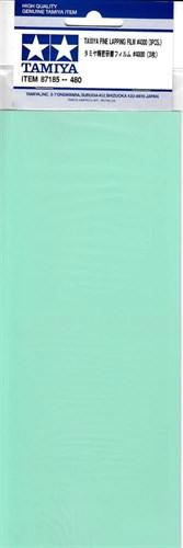 (!) Набор шлифовальной бумаги (на основе полиэстровой пленки) (Fine Lapping Film) c зернистостью #4000 - 3шт. - фото 64709