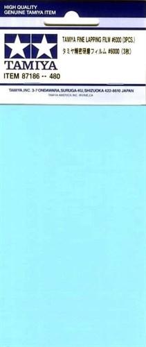 Набор шлифовальной бумаги (на основе полиэстровой пленки) (Fine Lapping Film) c зернистостью #6000 - 3шт. - фото 64712