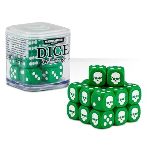 Citadel 12mm Dice Set (Зелёные) - фото 64779