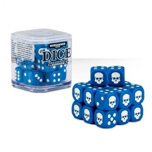 Citadel 12mm Dice Set (Синие) - фото 64780