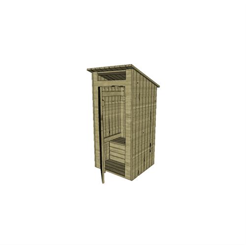 """""""Старый"""" туалет (масштаб 1/35) - фото 64811"""