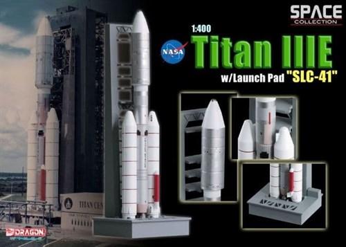 "Космос  Titan Iiie W/Launch Pad ""SLC-41""  (1:400) - фото 65017"