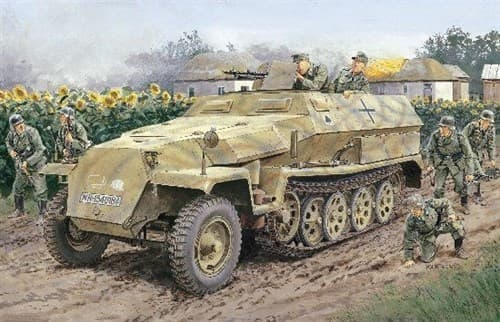 Бтр Sd.Kfz.251/1 Ausf.C  (1:35) - фото 65020