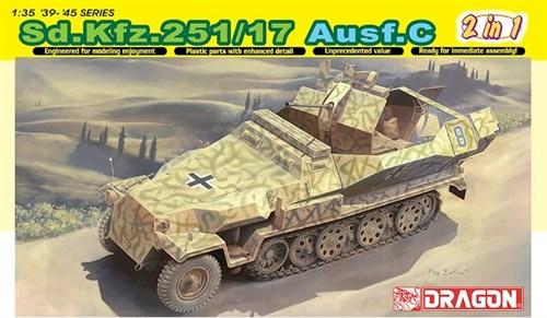 Бтр Sd.Kfz. 251/17 Ausf.C  (1:35) - фото 65031