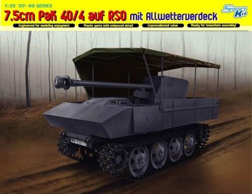 Сау  7.5cm Pak 40/4 Auf Rso Mit Allwetterverdeck  (1:35) - фото 65050