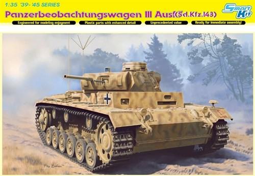 Pz. Beob. Wg. Iii Ausf.(Sd.Kfz. 143) (1:35) - фото 65090
