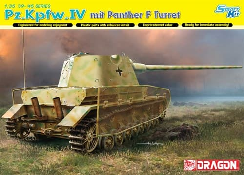 Pz.Kpfw.Iv Mit Panther F Turret (1:35) - фото 65096