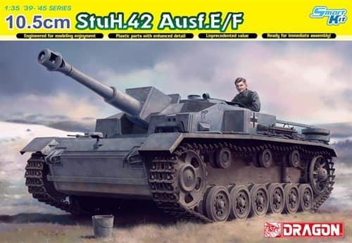 Сау 10.5cm Stuh.42 Ausf.E/F (1:35) - фото 65098
