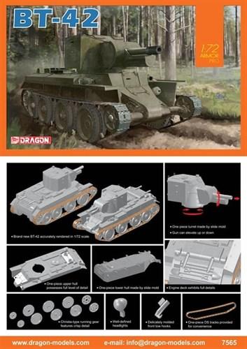 Танк  BT-42  (1:72) - фото 65114