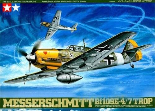 1/48 Messerschmitt Bf109 E-4/7 TROP - фото 66211