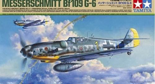 1/48 Messerschmitt Bf 109 G-6 - фото 66212