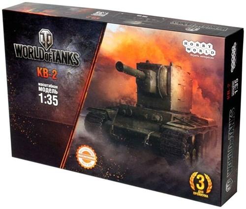 World of Tanks. КВ-2. Масштабная модель 1:35 (Сборный танк) (2-е рус. изд.) - фото 66382