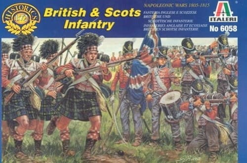 British And Scots Infantry  (1:72) - фото 66942