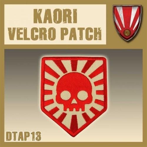 """Kaori Velcro Patch / Нашивка """"Каори"""" - фото 67150"""