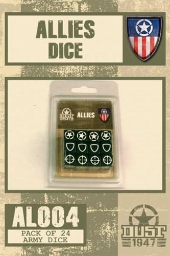 Allies Dice Set / Набор Кубиков Союзники - фото 67273