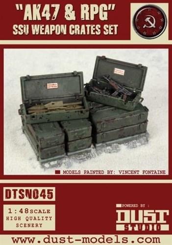 """""""AK47 & RPG"""" SSU Weapon Crates Set — Ящики с Оружием «АК47 и РПГ» - фото 67450"""