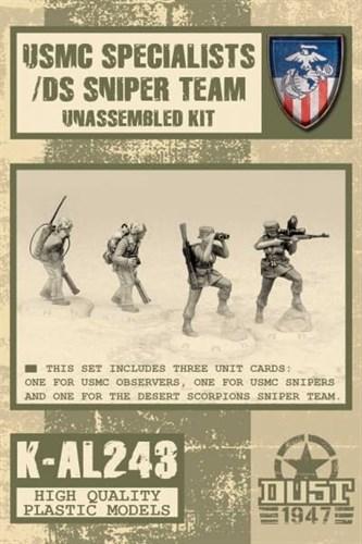 USMC SPECIALISTS (не собран не окрашен) УСМС Специалисты - фото 69692