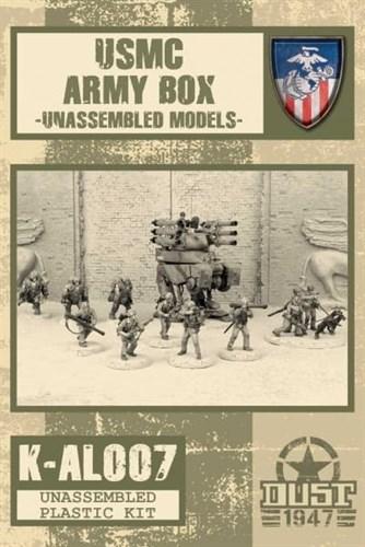 USMC ARMY BOX (не собран не окрашен) УСМС Набор Армии - фото 69793
