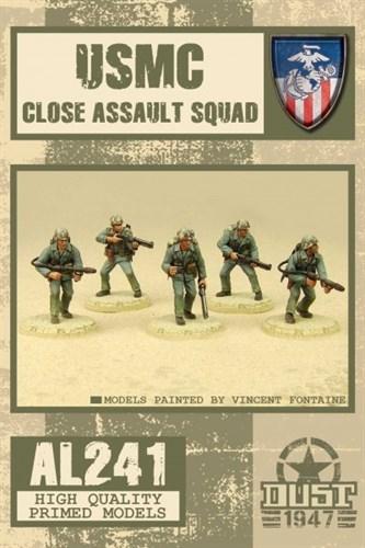 USMC CLOSE ASSAULT SQUAD (собран и загрунтован) УСМС штурмовой отряд - фото 70547