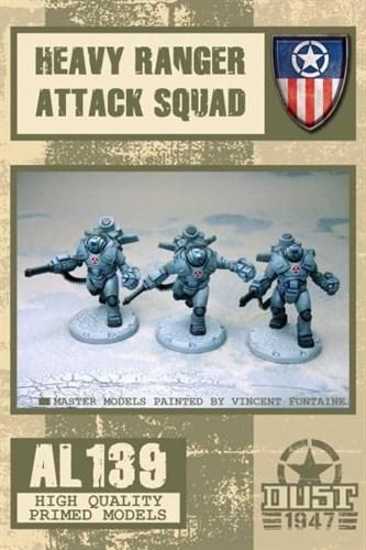 Heavy ranger Attack squad (собран и загрунтован) Мрачные Жнецы - фото 70699