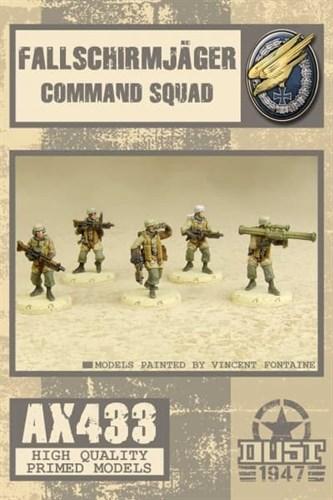 Fallschirmjager Command Squad (собран и загрунтован) Фальширмягер Командное Подразделение - фото 70977