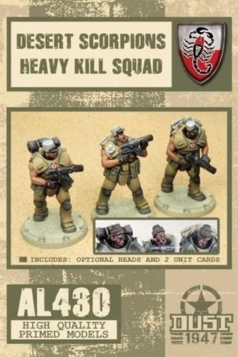 DESERT SCORPIONS HEAVY KILL SQUAD (собран и загрунтован) Пустынные Скорпионы тяжелый отряд убийц - фото 71004