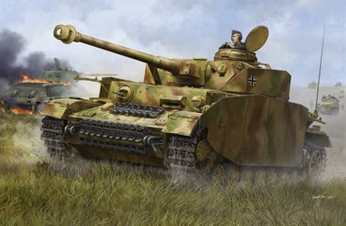 Танк  Pzkpfw IV Ausf.H немецкий средний танк (1:16) - фото 72187