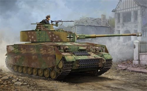 German Pz. Kpfw. Iv Ausf. J Medium Tank  (1:16) - фото 72192