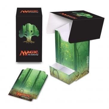 Пластиковая коробочка Ultra-Pro «Mana 5 Forest Full View» - фото 72952