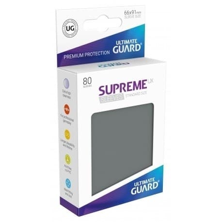 Supreme Sleeves Standard Size Dark Grey (UX) - фото 73035