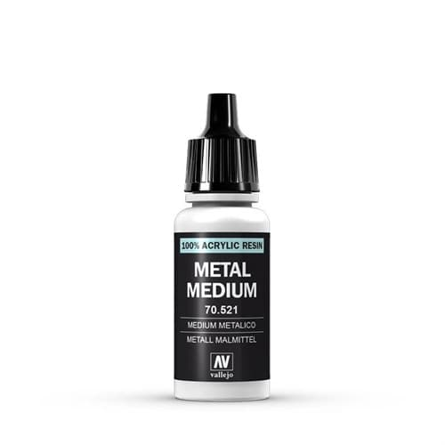 191. Металлик медиум  для 3-х типов краски: Model Air, Model Color и Game Color - фото 74054