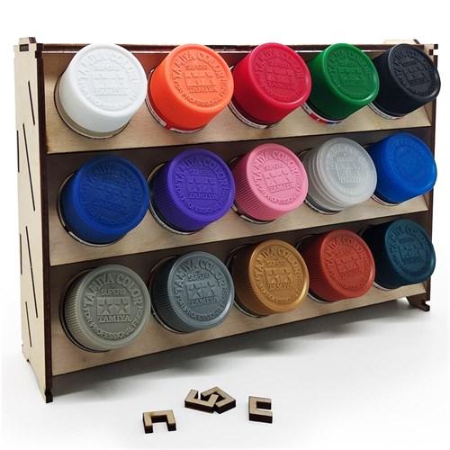 Подставка для красок 15 баночек (Tamiya) - фото 74373