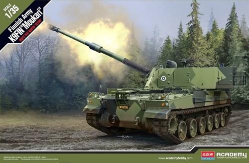 "САУ  Finnish Army K9FIN ""Moukari""  (1:35) - фото 75492"
