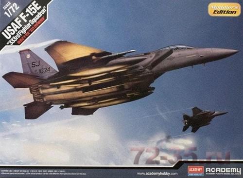"""Самолет  Usaf F-15e """"333rd Fighter Squadron""""  (1:72) - фото 75510"""
