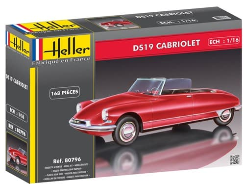 Ds19 Cabriolet  (1:16) - фото 75926
