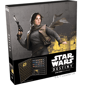 Star Wars: Destiny - Jyn Erso Dice Binder - фото 76773