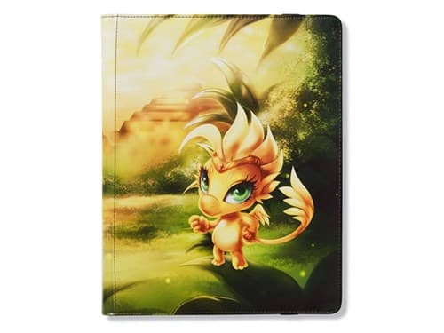 Dragon Shield: 18-Pocket Portfolio Binder - Dorna (Yellow) - фото 76815