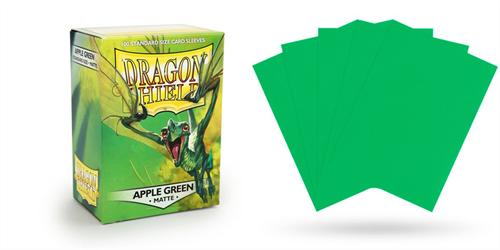 Dragon Shield Sleeves: Matte Apple Green - фото 76835