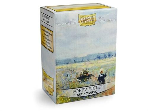 Протекторы Dragon Shield - Poppy Field (100 шт.) - фото 76840