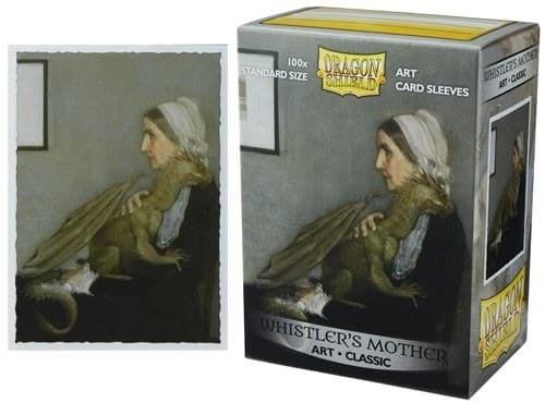 Протекторы Dragon Shield - Whistler's Mother (100 шт.) - фото 76842