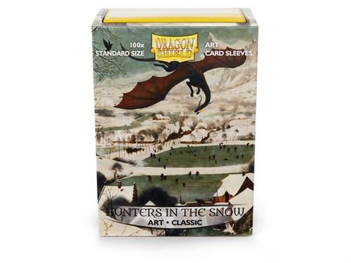 Протекторы Dragon Shield - Hunters in the Snow (100 шт.) - фото 76848