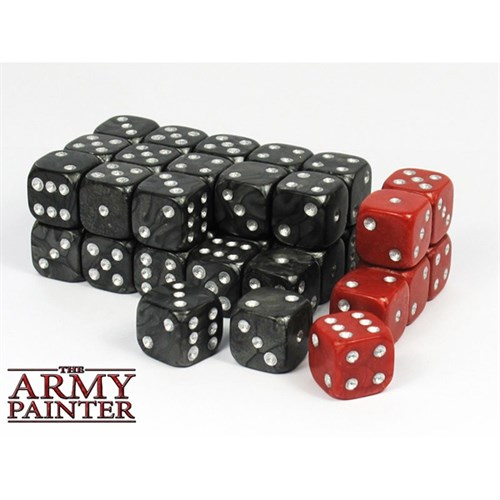 Tool: Wargaming Dice: Black+Red(30+6) - фото 76941