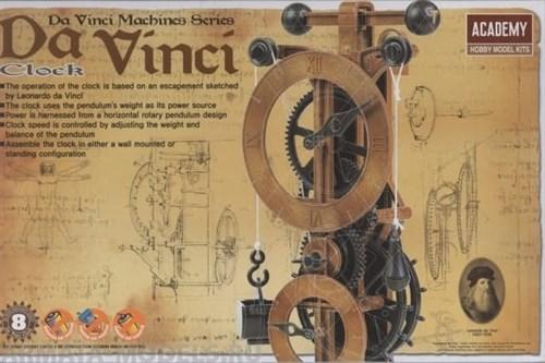 Часы  Da Vinci Clock - фото 76953